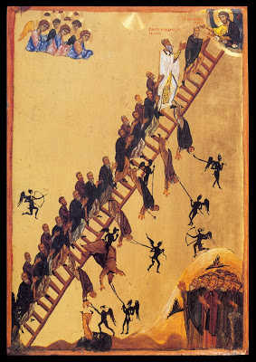 The ladder of Saint John of Sinai